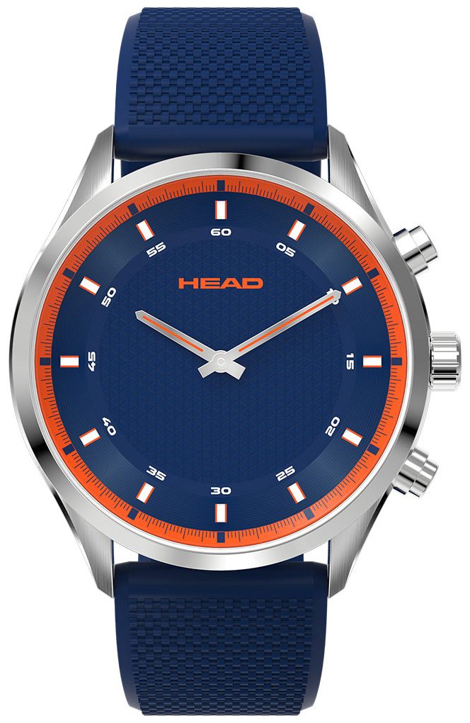 HEAD Advantage Herrklocka HE-002-02 Blå/Gummi Ø42 mm - HEAD