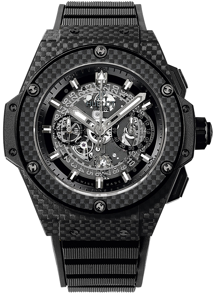 Hublot King Power Herrklocka 701.QX.0140.RX Gummi Ø48 mm - Hublot