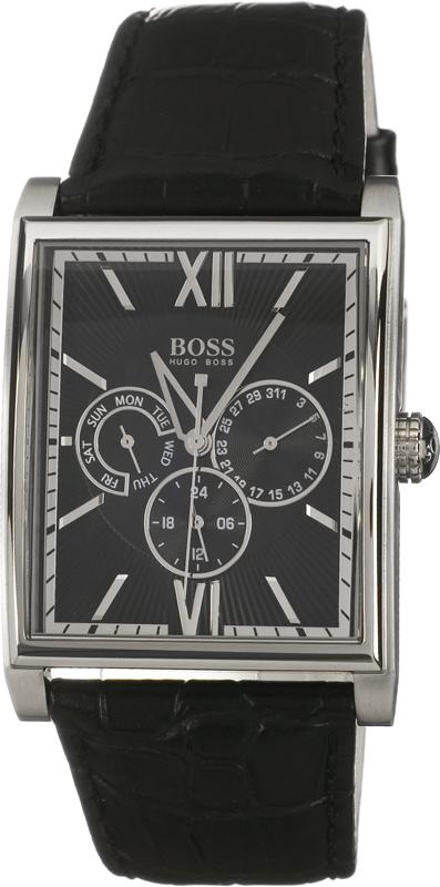 Hugo Boss Chronograph Herrklocka 1512401 Svart/Läder - Hugo Boss