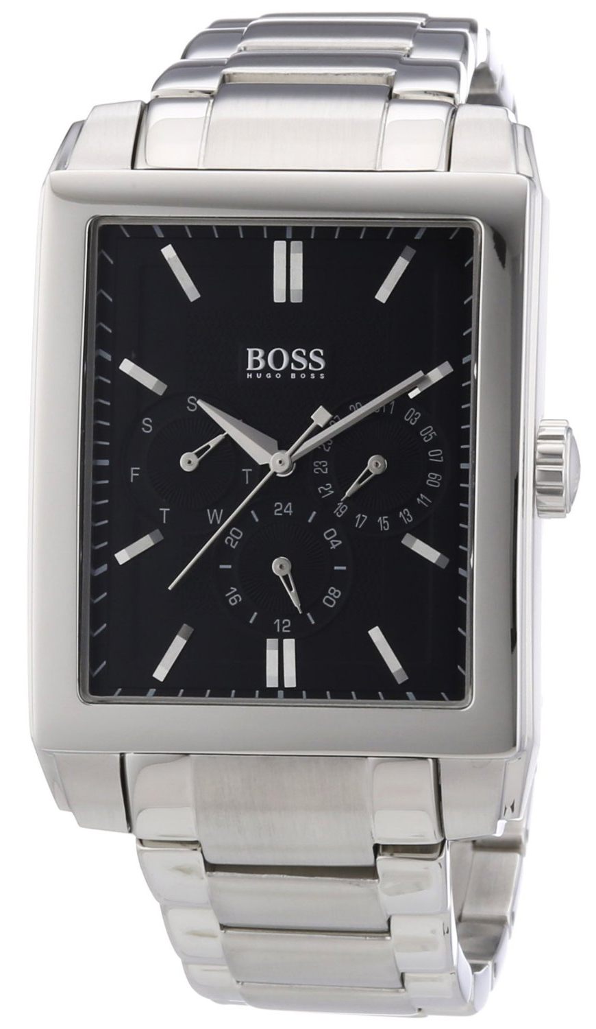 Hugo Boss 99999 Herrklocka 1512891 Svart/Stål 35x51 mm - Hugo Boss