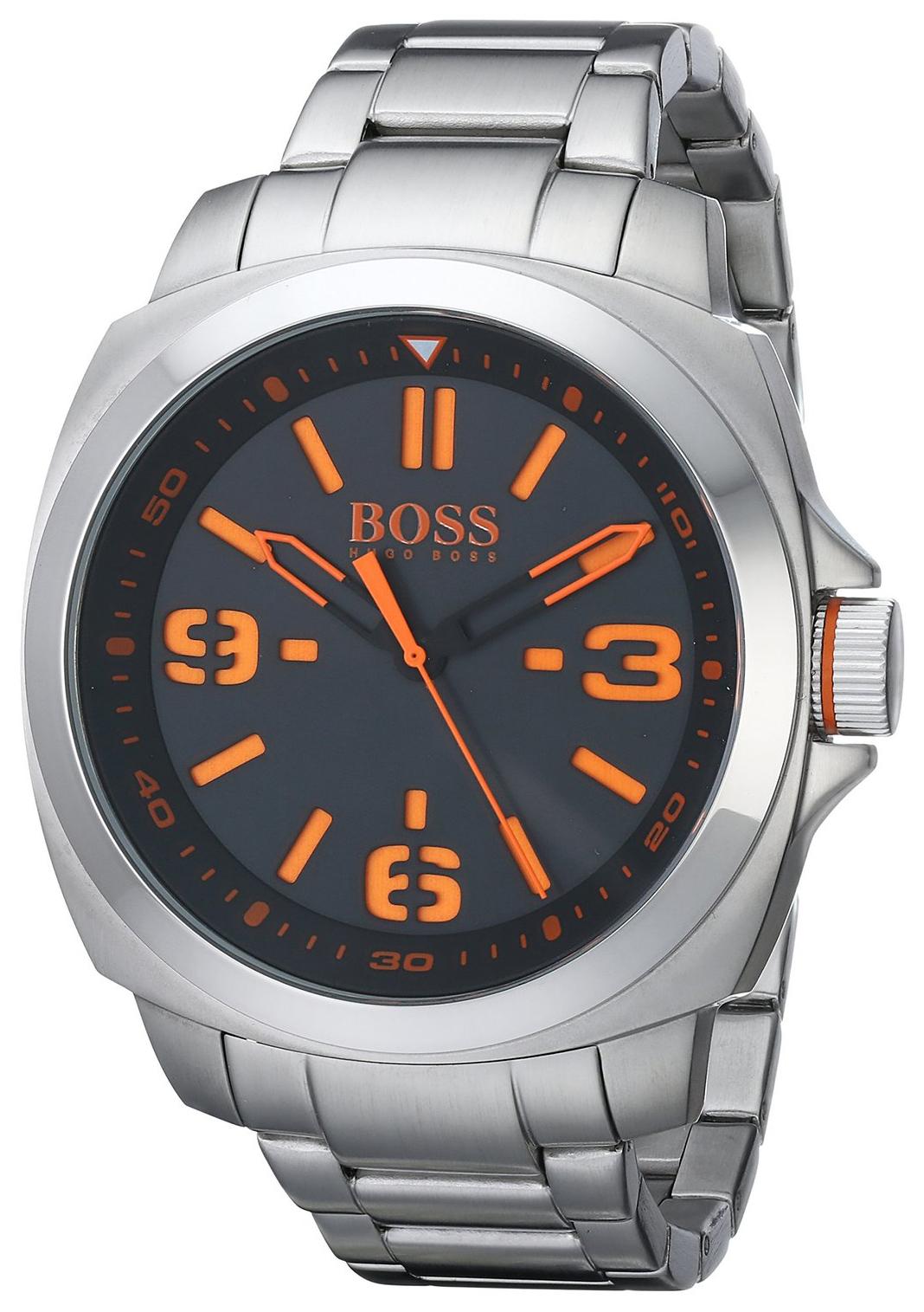 Hugo Boss Brisbane Herrklocka 1513099 Svart/Stål Ø46 mm - Hugo Boss
