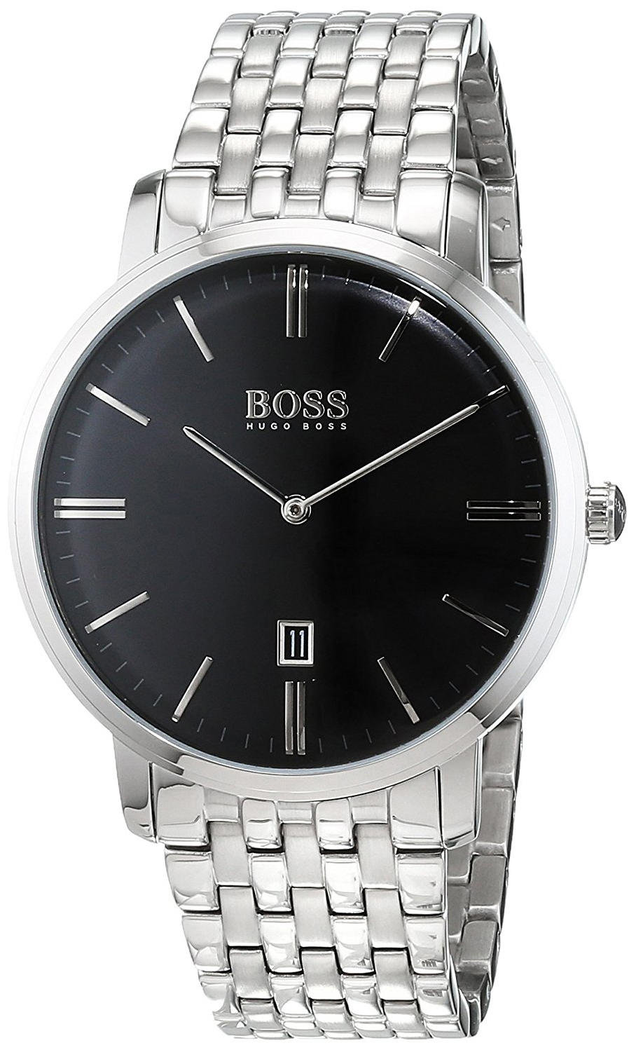 Hugo Boss Tradition Herrklocka 1513536 Svart/Stål Ø40 mm - Hugo Boss