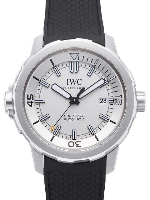 IWC Aquatimer Automatic Herrklocka IW329003 Vit/Gummi Ø42 mm - IWC