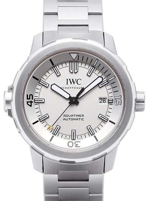 IWC Aquatimer Automatic Herrklocka IW329004 Vit/Stål Ø42 mm - IWC