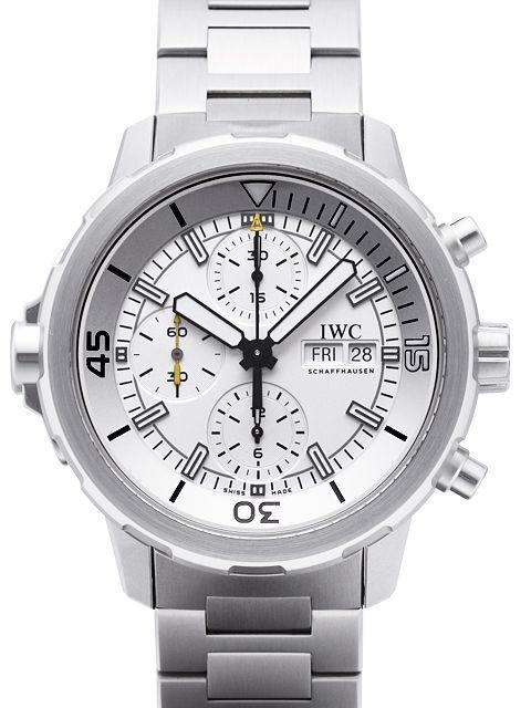IWC Aquatimer Chronograph Herrklocka IW376802 Silverfärgad/Stål Ø44 mm - IWC