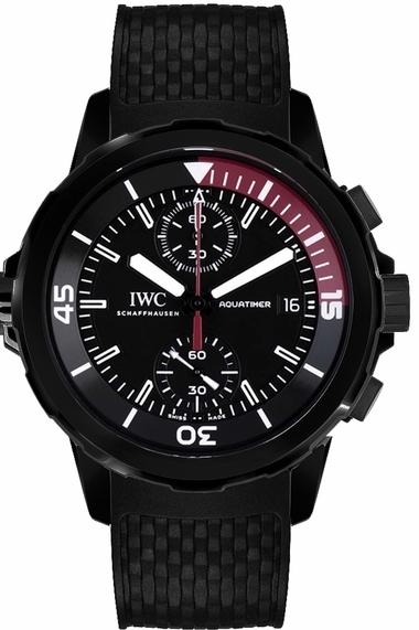 IWC Aquatimer Herrklocka IW379505 Svart/Gummi Ø44 mm - IWC