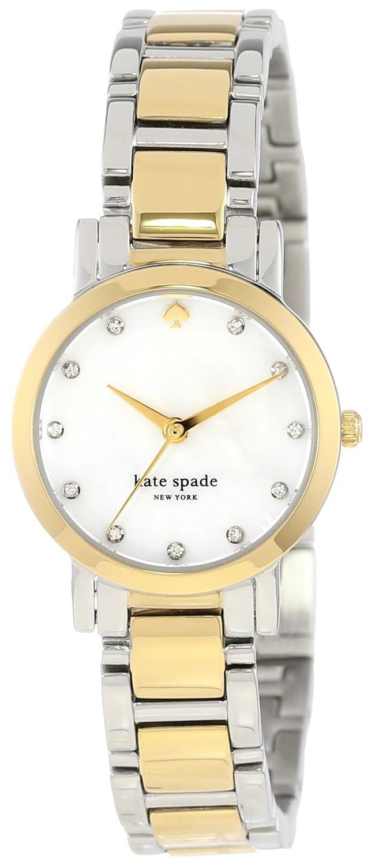 Kate Spade Gramercy Damklocka 1YRU0147 Vit/Stål Ø24 mm - Kate Spade
