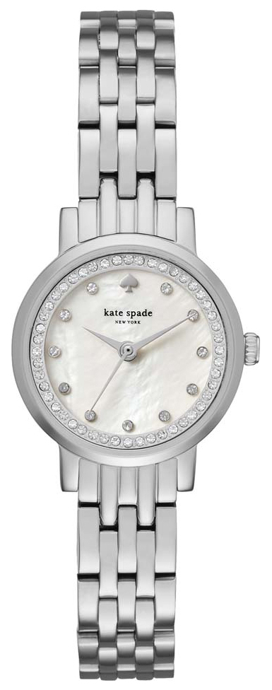 Kate Spade 99999 Damklocka KSW1241 Vit/Stål Ø24 mm - Kate Spade