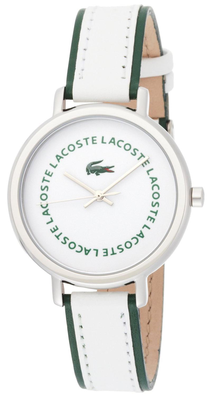 Lacoste Nice Herrklocka 2000580 Vit/Läder - Lacoste