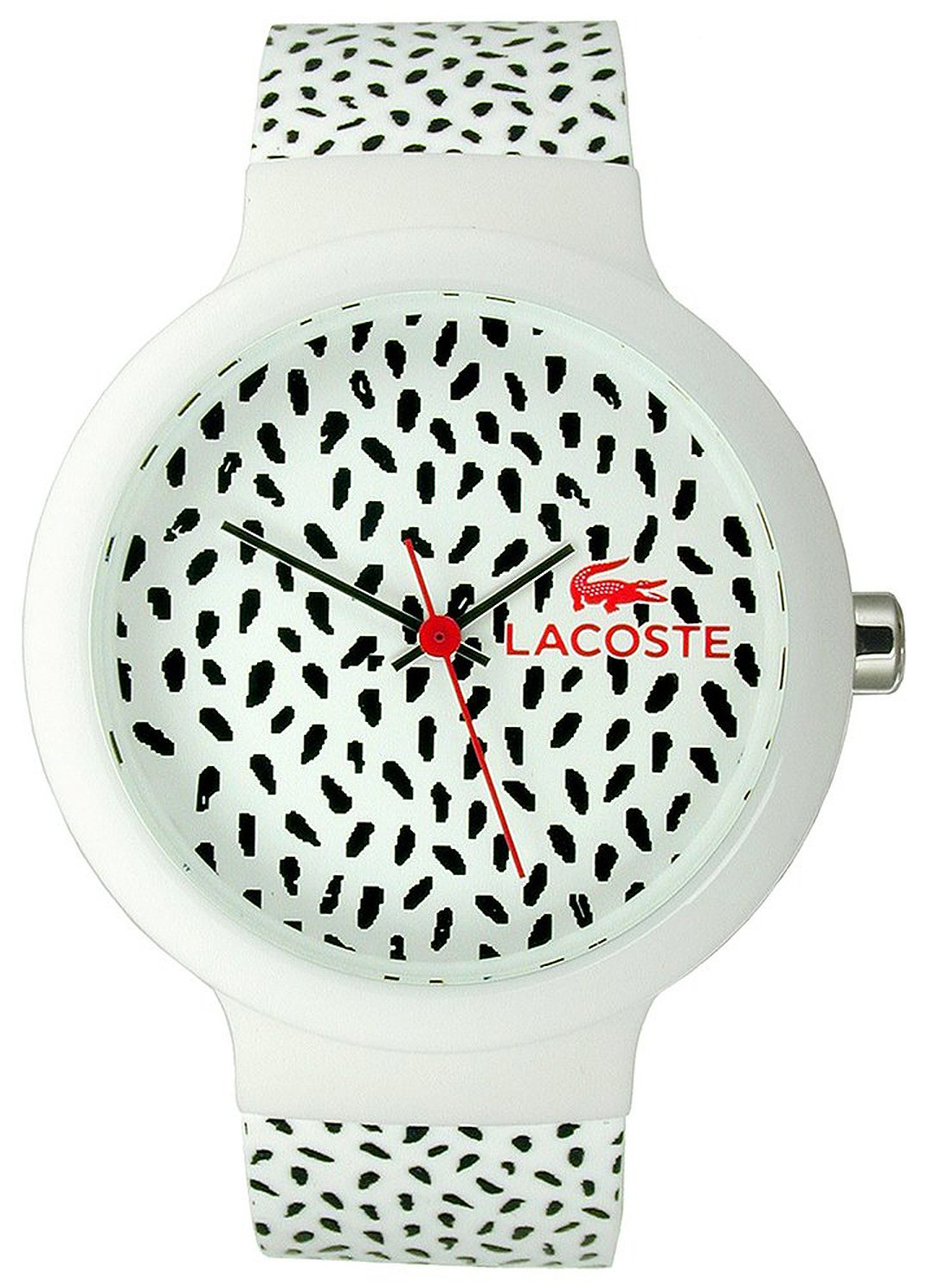 Lacoste Dress 2020095 Flerfärgad/Gummi Ø41 mm - Lacoste