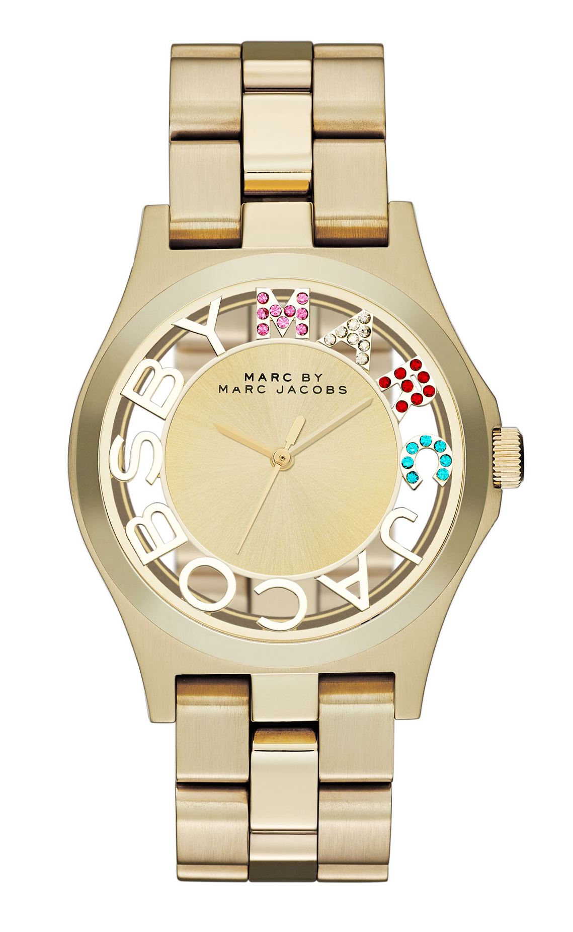 Marc by Marc Jacobs Henry Skeleton Damklocka MBM3263 - Marc by Marc Jacobs