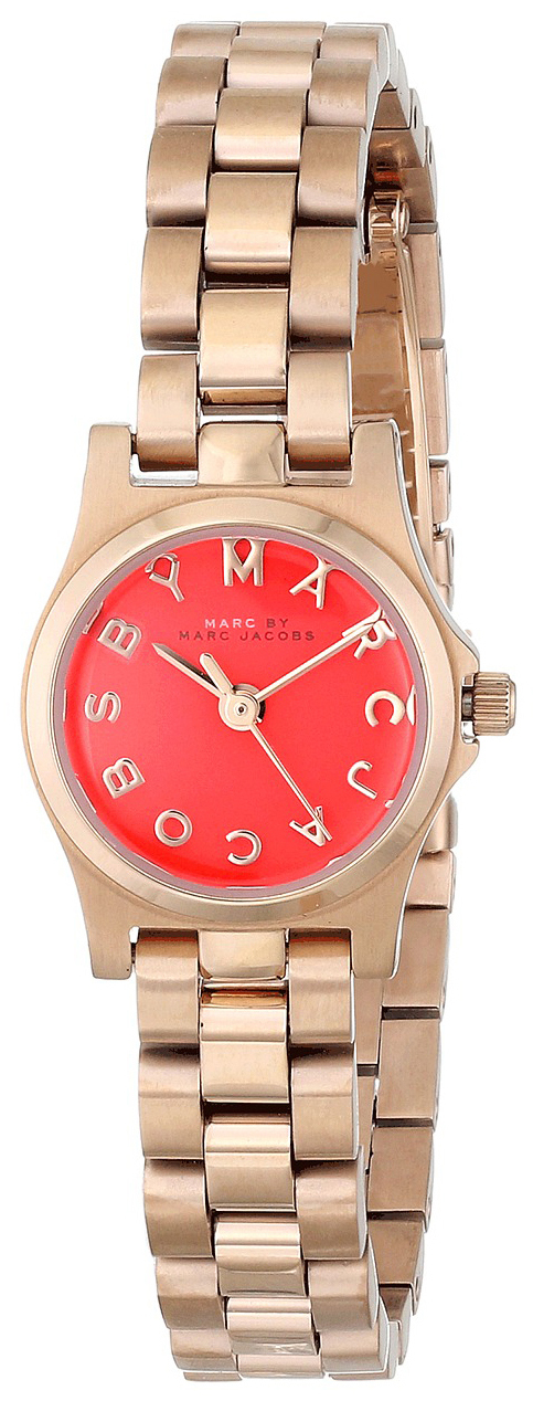 Marc by Marc Jacobs 99999 Damklocka MBM3311 Orange/Roséguldstonat stål - Marc by Marc Jacobs