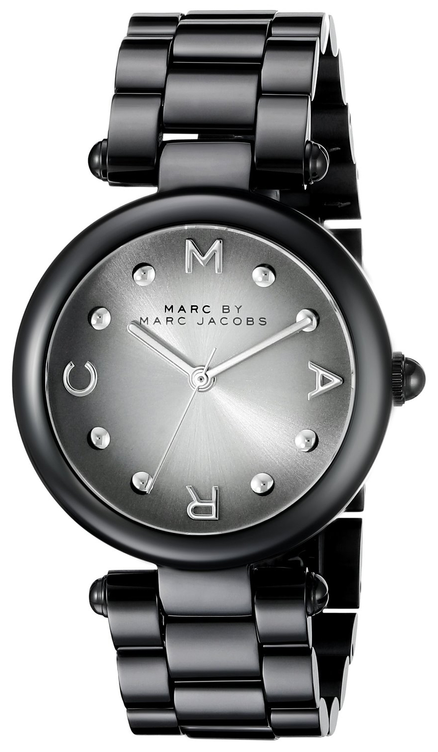 Marc by Marc Jacobs Dress Damklocka MJ3450 Svart/Stål Ø34 mm - Marc by Marc Jacobs