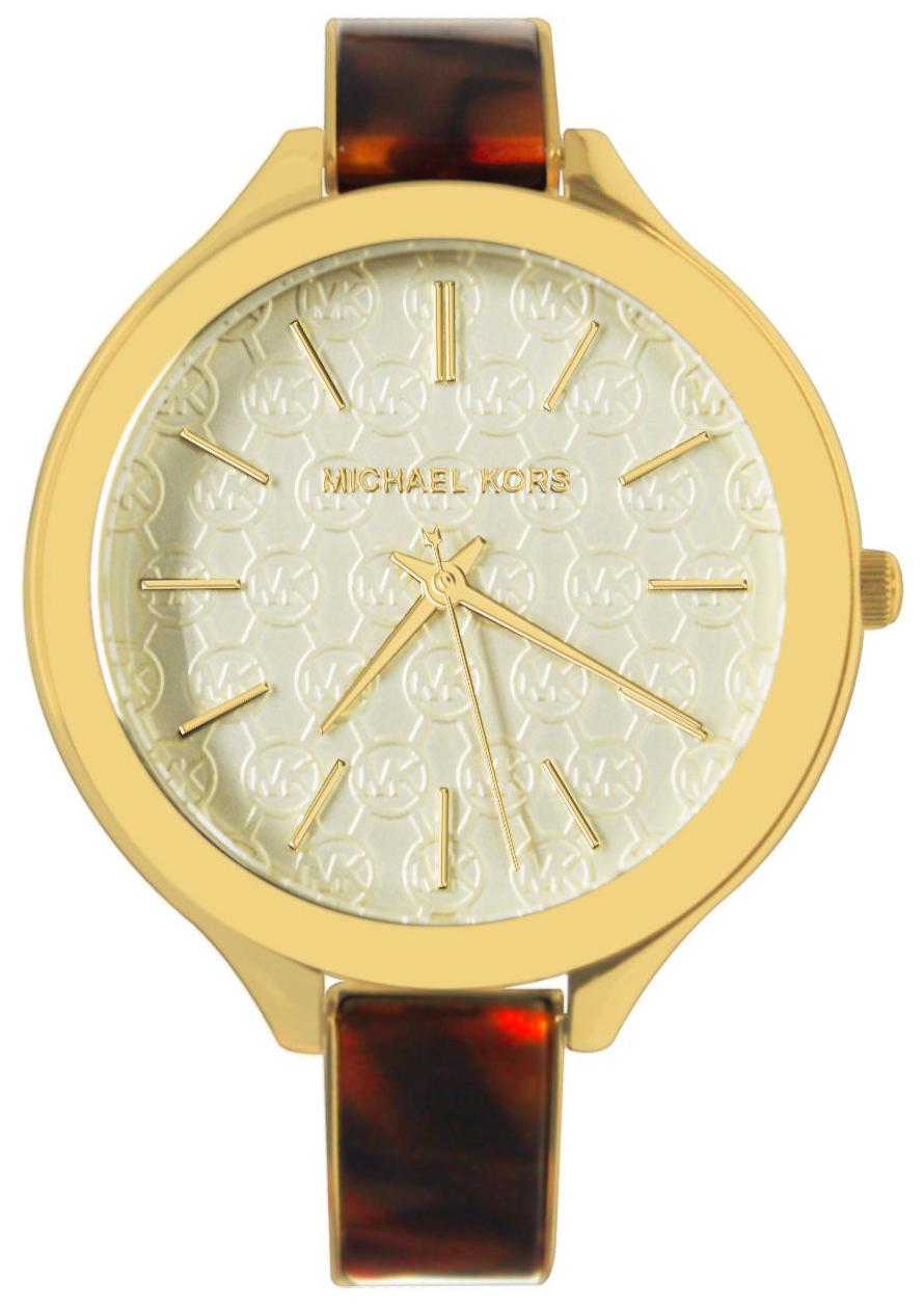 Michael Kors Damklocka MK4293 Champagnefärgad/Gulguldtonat stål Ø42 mm - Michael Kors