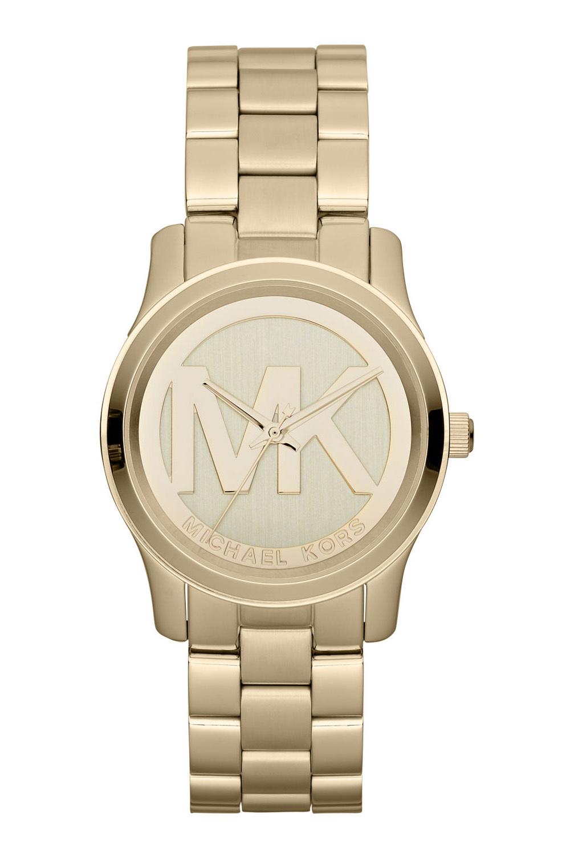 Michael Kors Runway Damklocka MK5786 Champagnefärgad/Gulguldtonat stål - Michael Kors