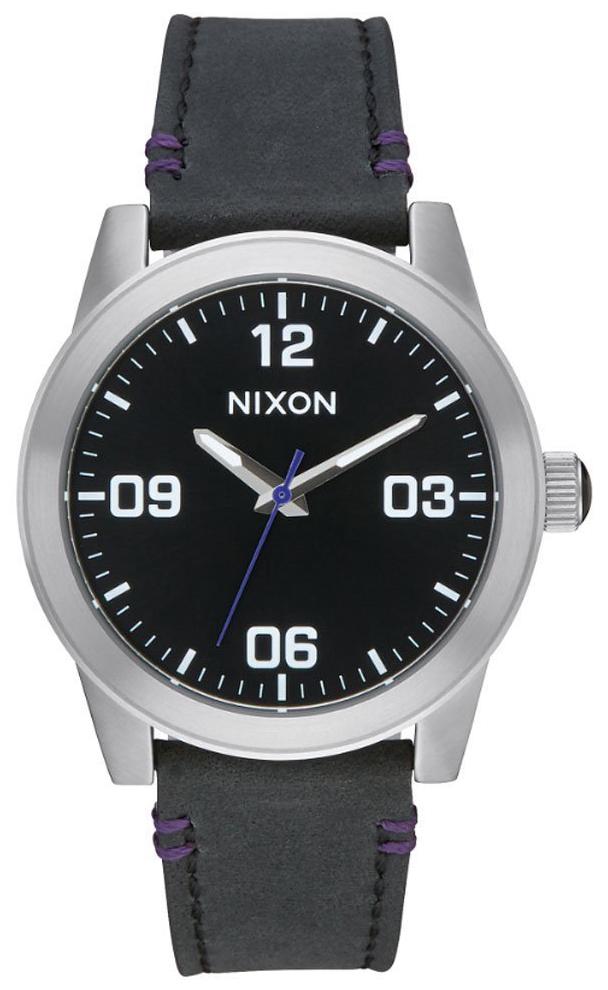 Nixon 99999 Damklocka A933000-00 Svart/Läder - Nixon