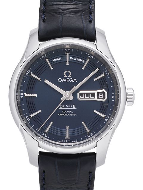 Omega De Ville Hour Vision Co-Axial Annual Calendar 41mm Herrklocka - Omega