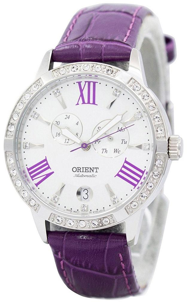 Orient Classic Damklocka FET0Y004W0 Vit/Läder Ø37 mm - Orient