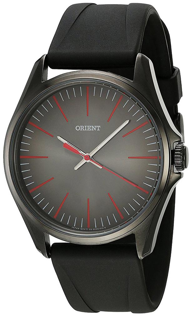 Orient Classic Herrklocka FQC0S00AA0 Svart/Gummi Ø41 mm - Orient