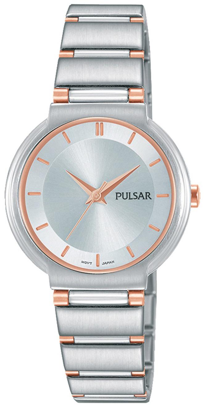 Pulsar Attitude Damklocka PH8333X1 Silverfärgad/Roséguldstonat stål - Pulsar
