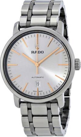 Rado Diamaster Herrklocka R14074102 Silverfärgad/Keramik Ø41 mm - Rado