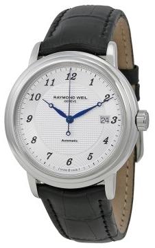 Raymond Weil Maestro Herrklocka 2837-STC-05659 Silverfärgad/Läder Ø39.5 - Raymond Weil
