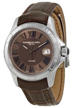 Raymond Weil Parsifal Herrklocka 2970-STC-00718 Brun/Läder Ø39 mm - Raymond Weil