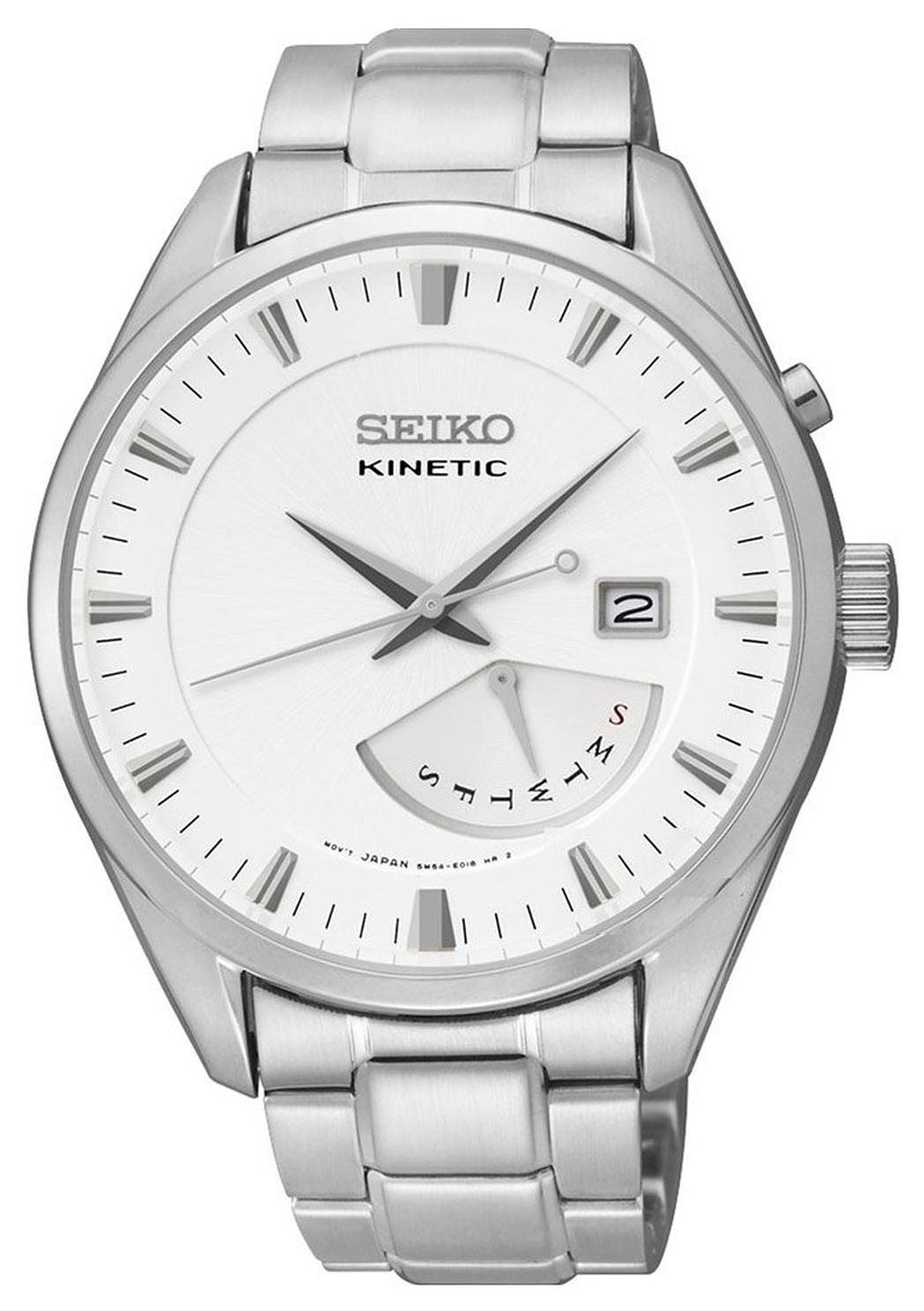 Seiko Herrklocka SRN043P1 Silverfärgad/Stål Ø42 mm - Seiko