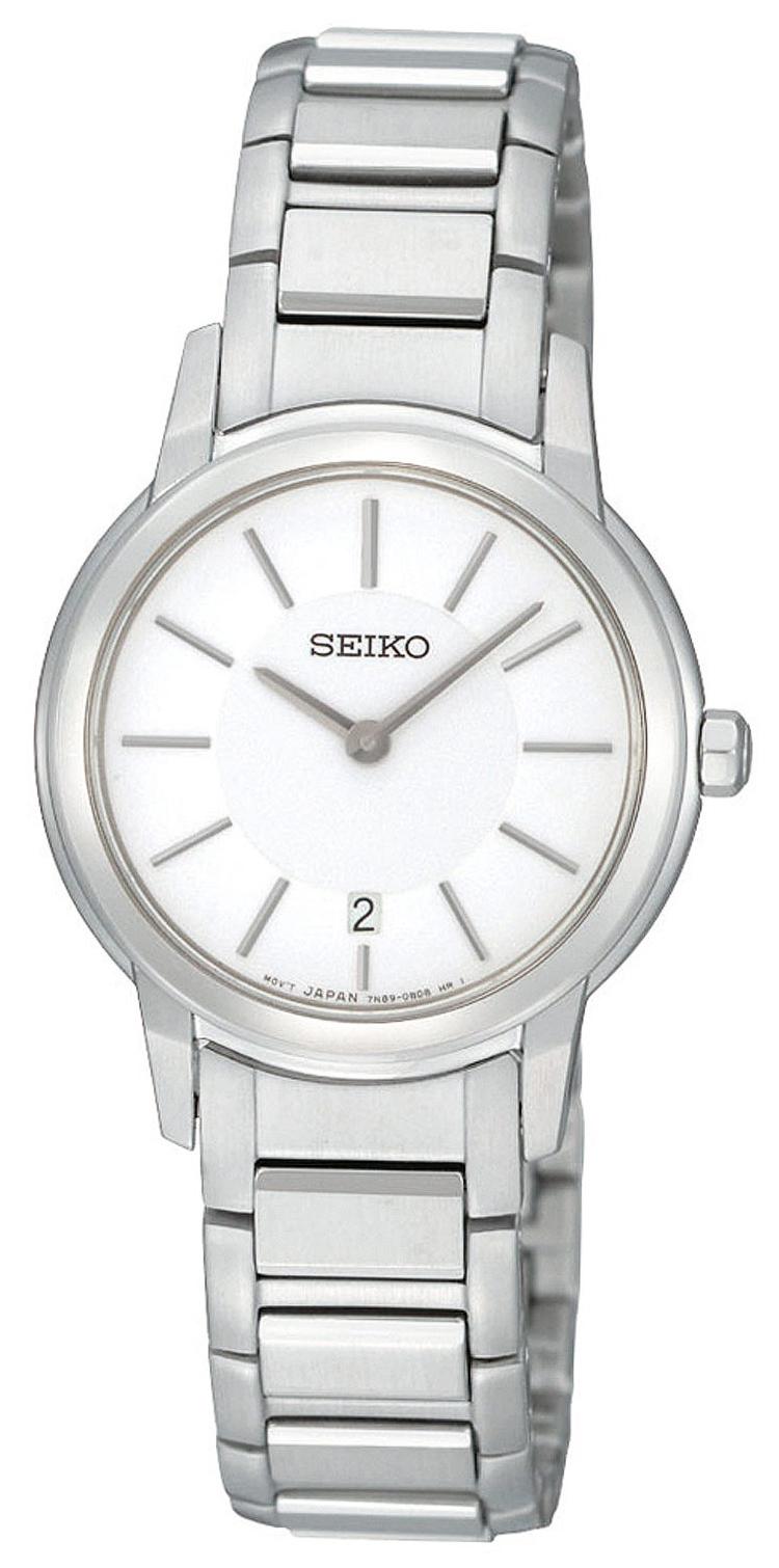 Seiko Damklocka SXB421P1 Vit/Stål Ø29 mm - Seiko