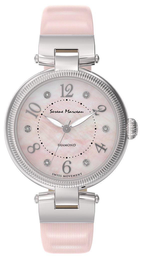 Serene Marceau Diamond Passage des Panoramas Damklocka S001.14 Rosa/Satin - Serene Marceau Diamond