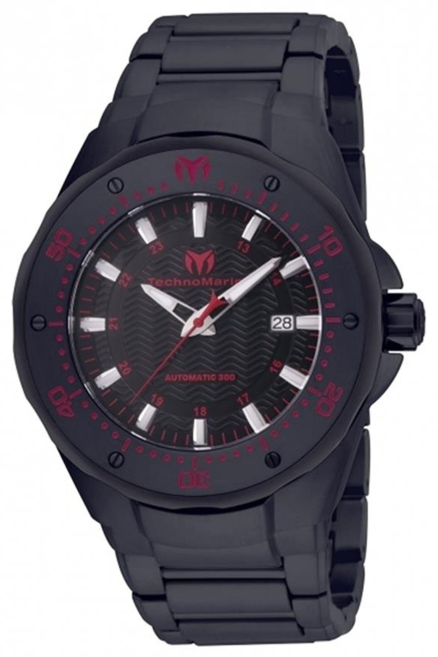 Technomarine Manta Sea Herrklocka TM-215097 Svart/Stål Ø48 mm - Technomarine