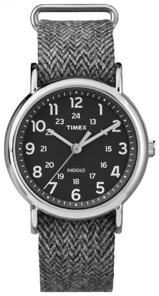 Timex Weekender Herrklocka TW2P72000 Svart/Textil Ø38 mm - Timex