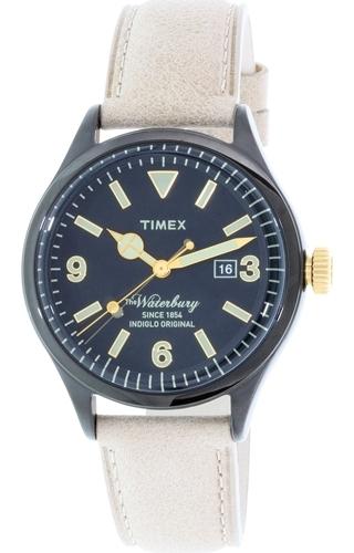 Timex 99999 Damklocka TW2P74900 Svart/Läder Ø42 mm - Timex