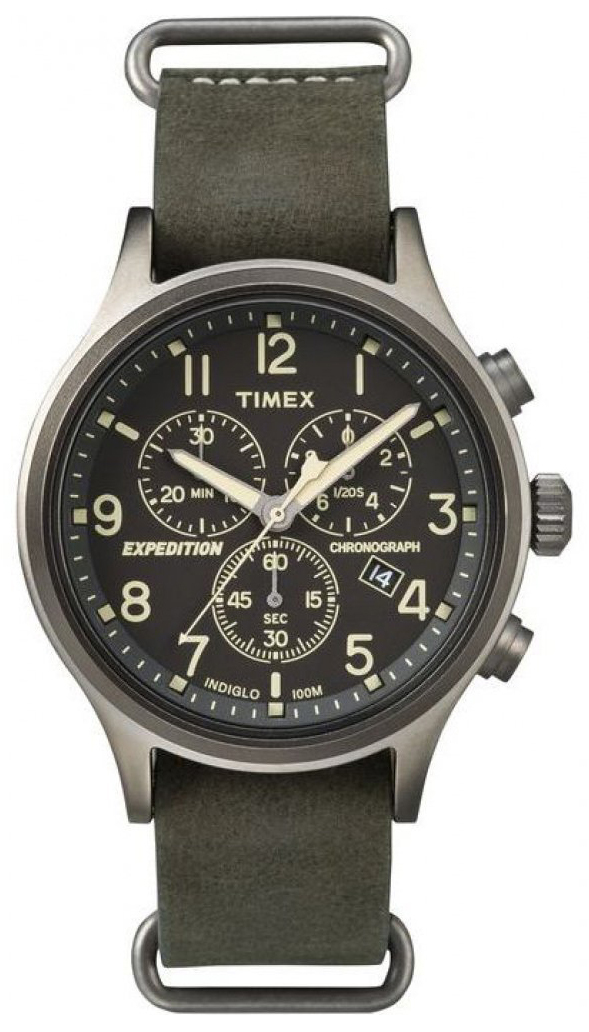Timex Expedition Herrklocka TW4B04100 Svart/Stål Ø40 mm - Timex