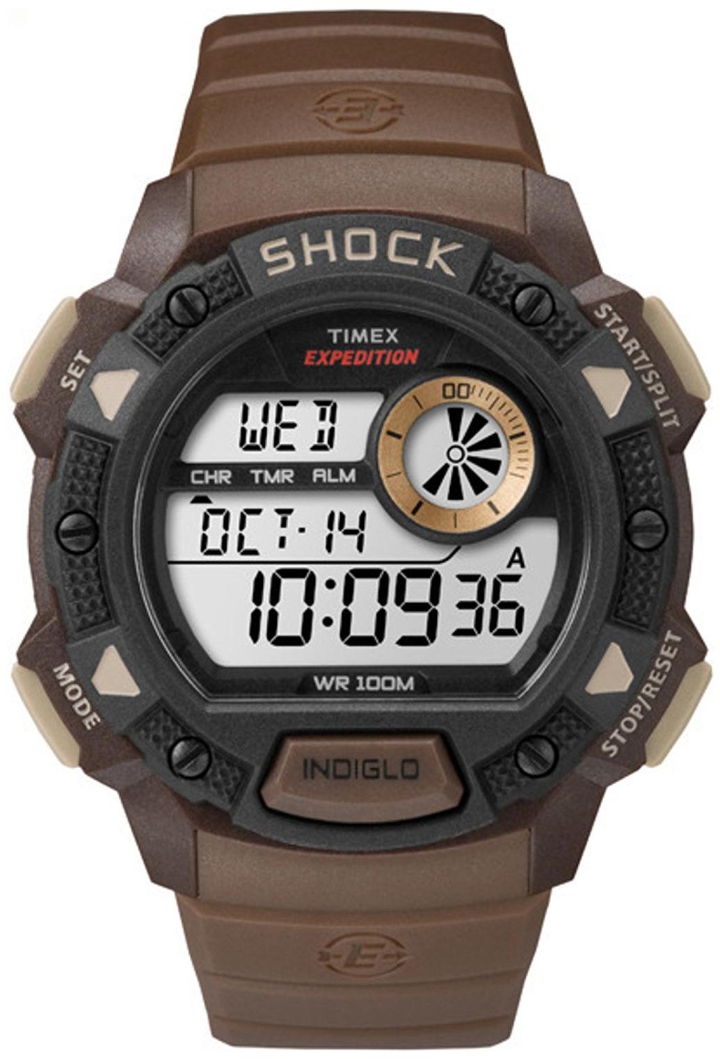 Timex Expedition Herrklocka TW4B07500 LCD/Resinplast Ø45 mm - Timex