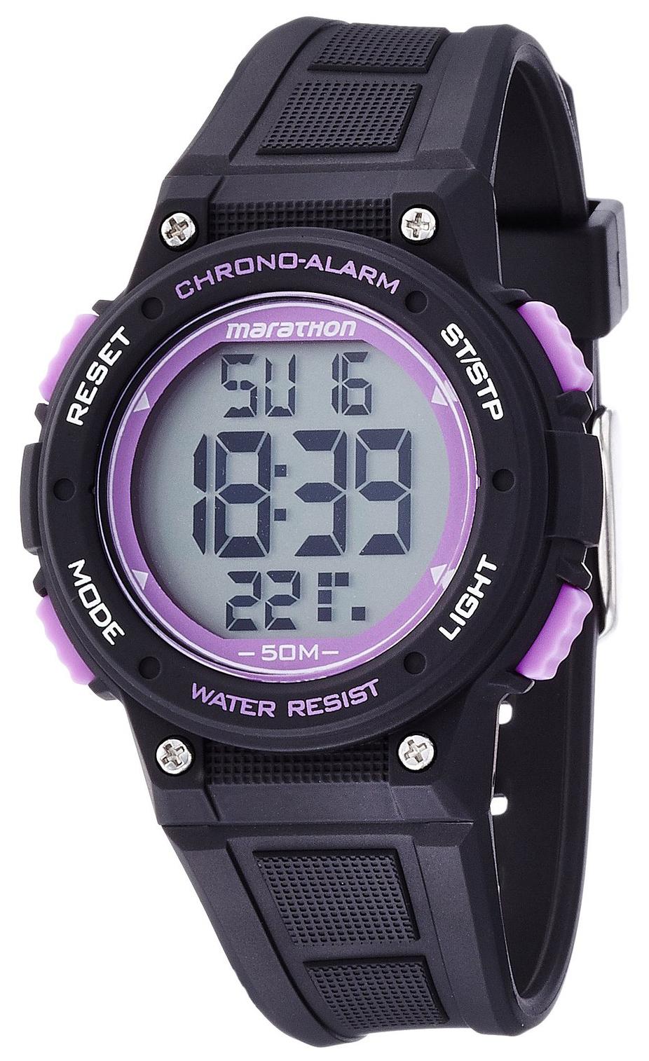 Timex Marathon Herrklocka TW5K84700 LCD/Gummi Ø38 mm - Timex