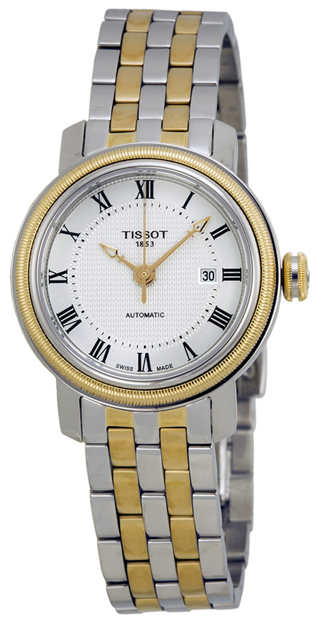 Tissot T-Lady Bridgeport Automatic Lady Damklocka T097.007.22.033.00 - Tissot