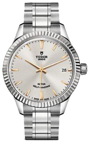 Tudor Style Damklocka 12310-0005 Silverfärgad/Stål Ø34 mm - Tudor