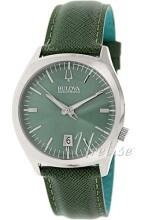 Bulova Accutron Grön/Läder Ø41 mm