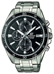Casio Edifice Svart/Stål Ø47 mm EFR-546D-1AVUEF