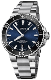 Oris Diving Blå/Stål Ø43.5 mm 01 733 7730 4135-07 8 24 05PEB
