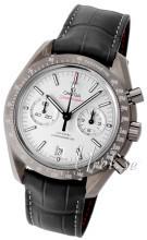 Omega Speedmaster Moonwatch Co-Axial Chronograph 44.25mm Silverfärgad/Läder Ø44.25 mm
