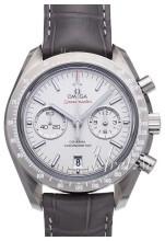 Omega Speedmaster Moonwatch Co-Axial Chronograph 44.25mm Grå/Läder Ø44.25 mm