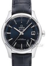 Omega De Ville Hour Vision Orbis Co-Axial Master Chronometer 41mm Blå/Läder Ø41 mm