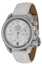 Omega Speedmaster Chronograph 38mm Vit/Läder Ø38 mm