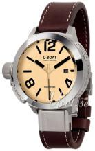 U-Boat Classico Beige/Läder Ø45 mm